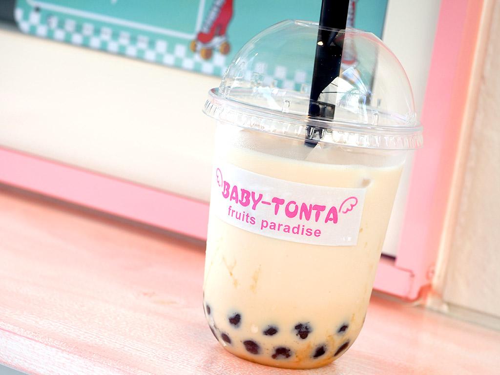 中区 伏尾にあるタピオカドリンクが飲めるお店『BABY TONTA』』