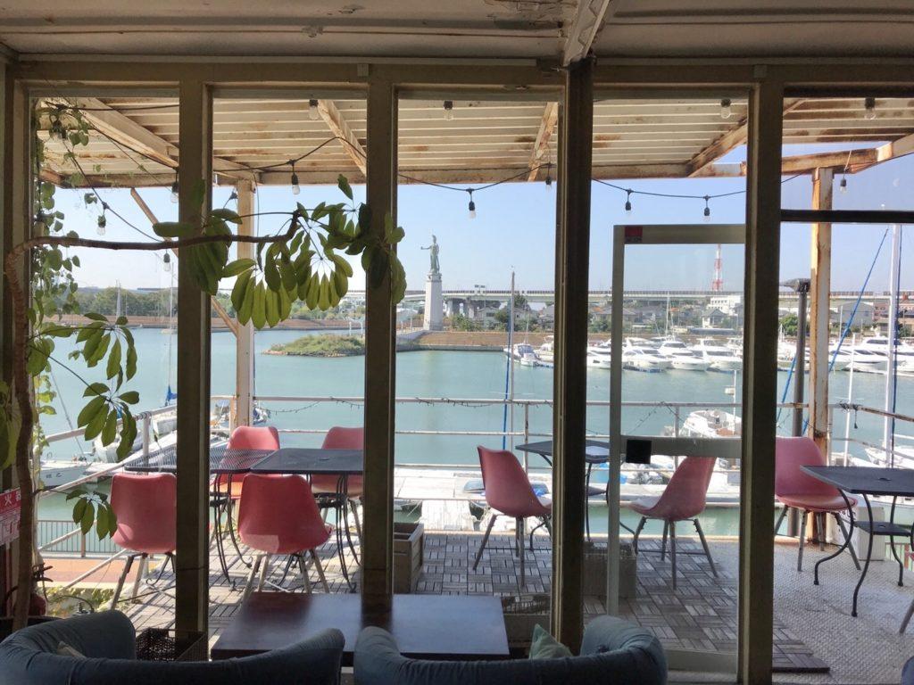 この景色が堺にあるん?!海のすぐ側・堺区の絶景カフェ『Que sera sera(ケセラセラ)』でランチしてきたよ♬【堺市堺区グルメ】: