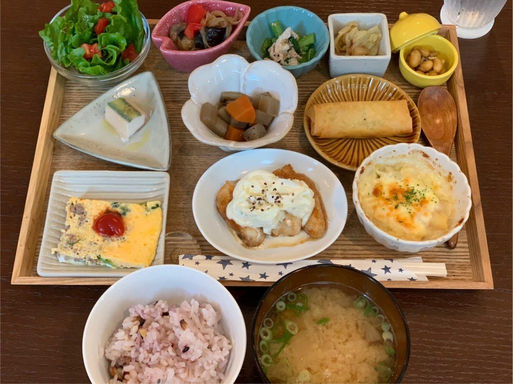 さかにゅー 大阪狭山ランチ 豆皿ランチ