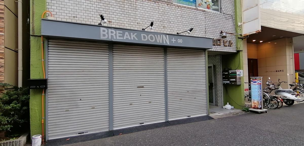【2020.11/2オープン】堺東★物を壊してストレス発散『BREAK DOWN+∞』がオープンしたよ★:
