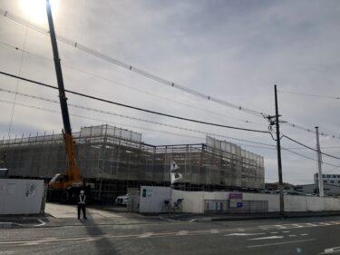 【新店情報】4月下旬オープンするみたい☆松原市・別所交差点近くにかなり大きな店舗が建設中です!!: