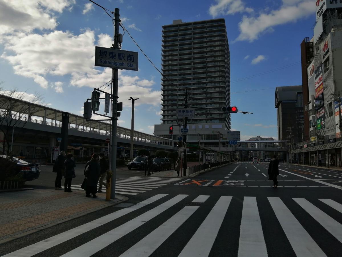 【2021.3/1ついに開通!】堺東駅~堺市役所前★長くて広~い歩行者デッキを歩いてみたよ!エレベーター情報も★: