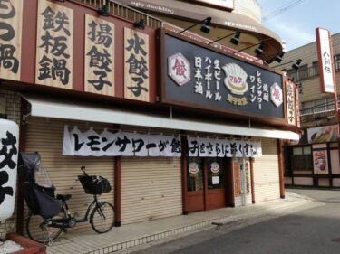 【2021.3/8オープン♪】堺市東区・美味しい自家製餃子とレモンサワーが楽しめる『餃子食堂マルケン』がオープンしましたぁ~♪: