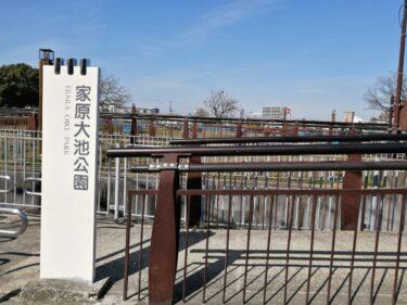 【続報!】堺市西区・家原大池公園の改修工事期間が延長になりました。現在も工事中ですよ!: