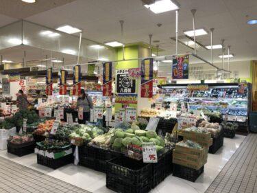 【2021.3/6オープン】じゃんぼスクエア河内長野の食鮮館に、新鮮野菜の『八百栄』がオープンしてますよ~!: