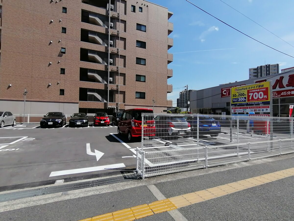 【2021.4/26頃オープン】堺市北区・なかもず駅前のデーニーズ横に『One Parkなかもず駅前』がオープンしています: