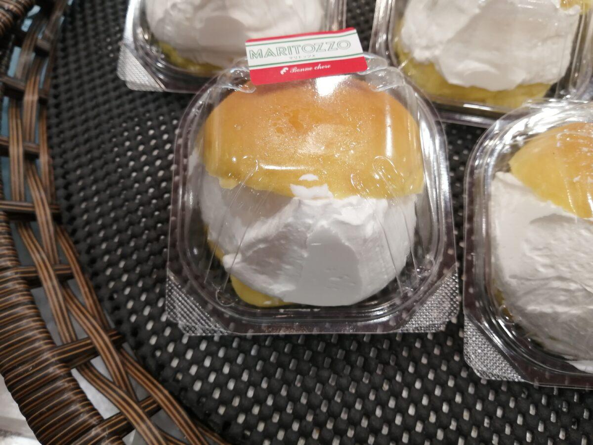 堺市西区・話題のスイーツを万代で発見!万代上野芝店内のパン屋さん『ボン シェール』でマリトッツォみーつけた♡【堺・南河内で食べられるマリトッツォ特集】: