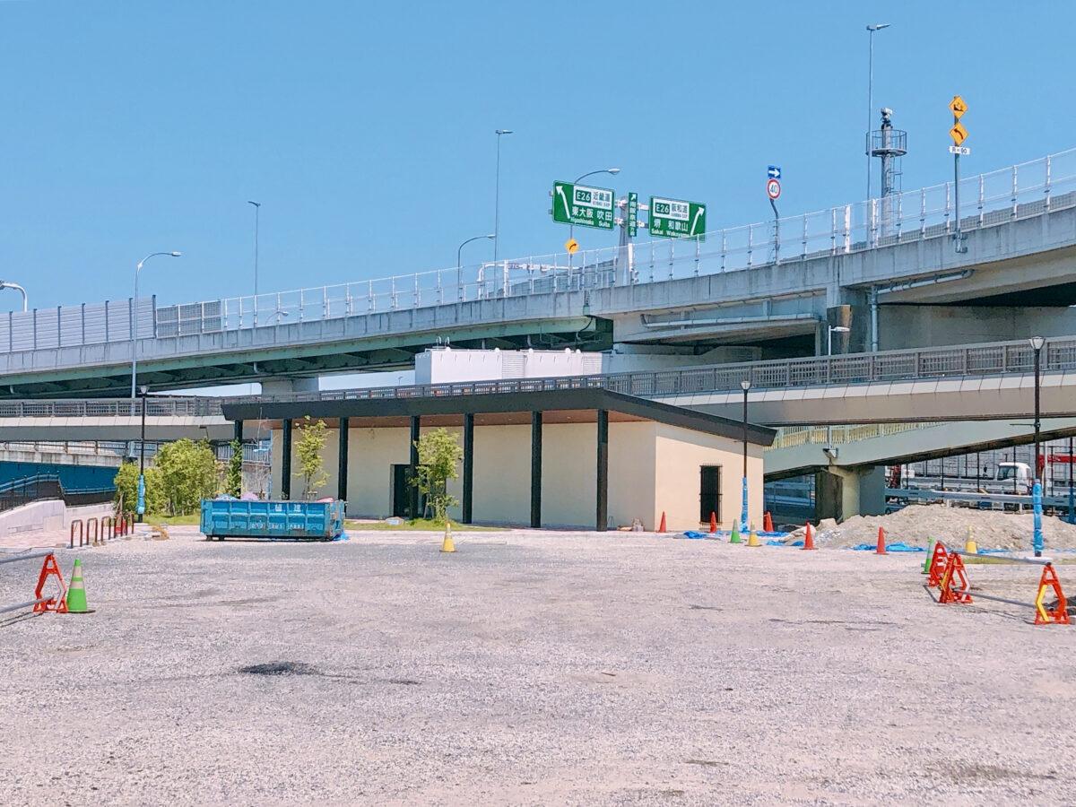 【新店情報!!】松原市・大堀4丁目の大和川からすぐ側に『道の駅』が開設されるみたい♪:
