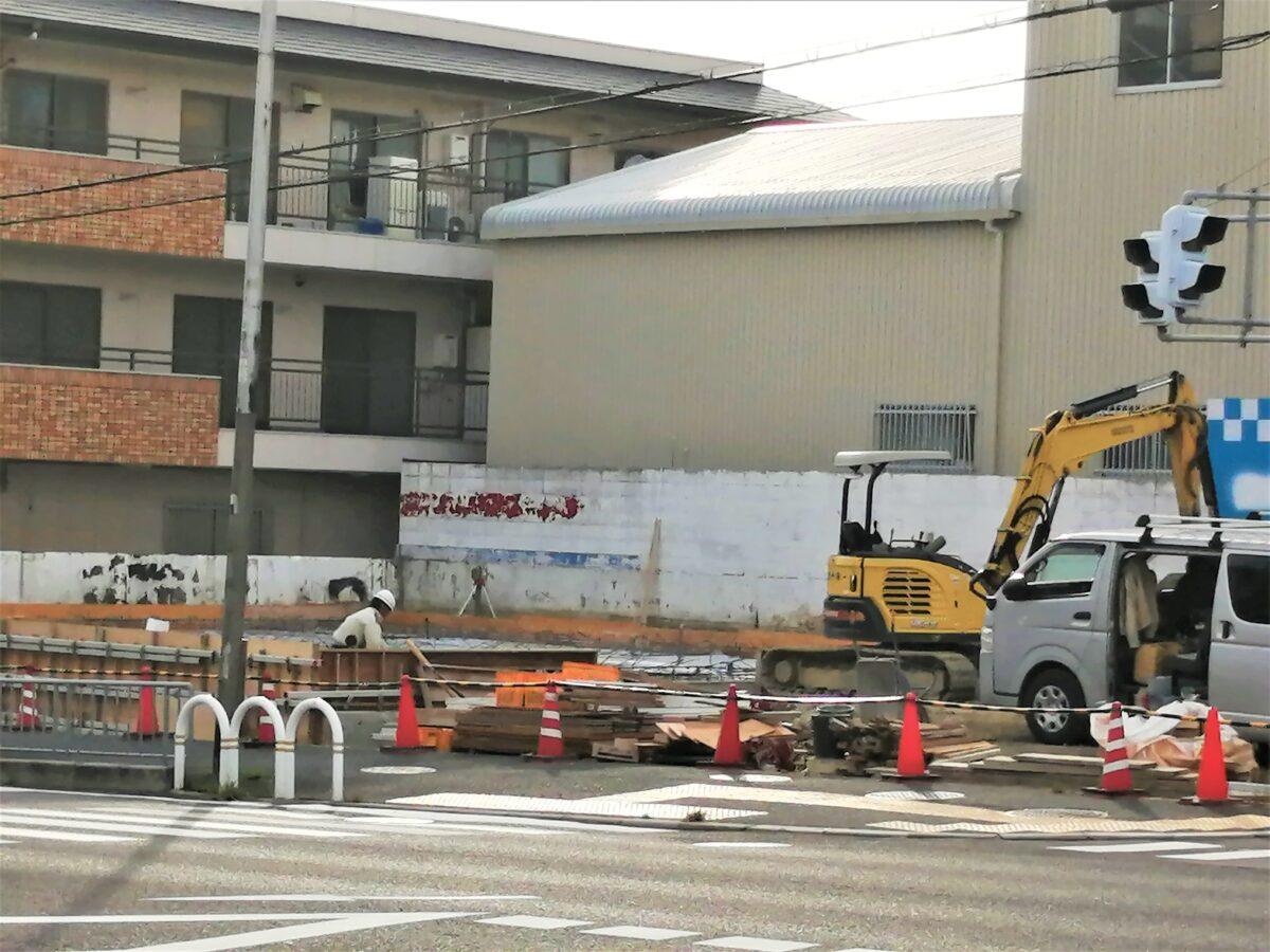 【新店情報】堺市堺区・ときはま線沿いにあったユーポス跡地が動き出したよ!跡地にできるのは。。。: