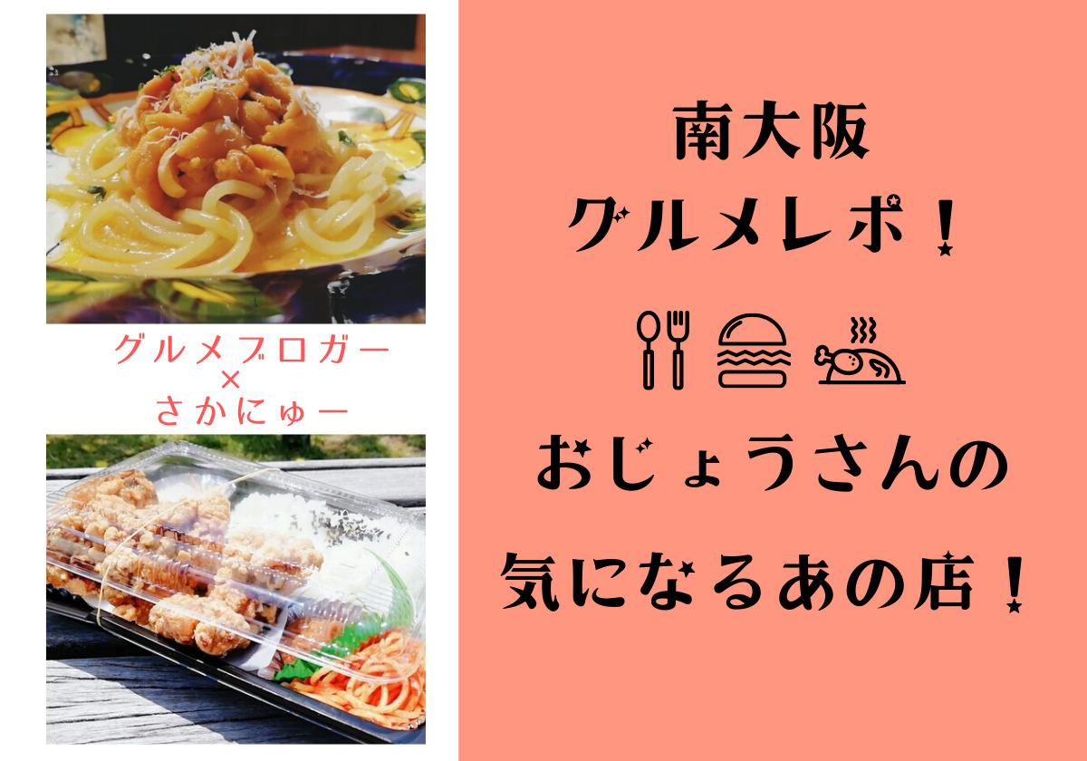 【1・2店舗目】「何度も通いたくなる味」南大阪グルメレポ!おじょうさんの気になるあの店!【グルメブロガー×さかにゅーPresents】: