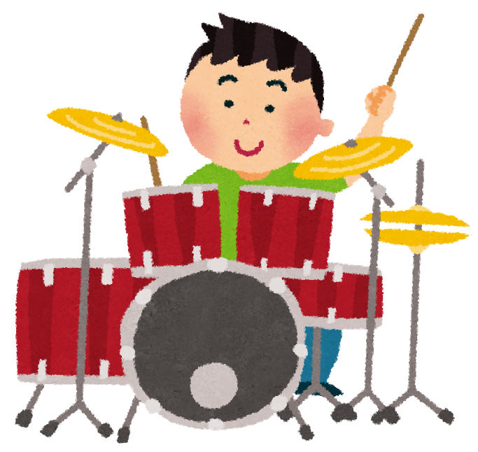 【2021.7/17~8/7土曜連続開催】堺区・プロのドラマーみたいにかっこよくたたけるかな♪夏の連続講座『ドラム』が開催されます!※要申込@人権ふれあいセンター: