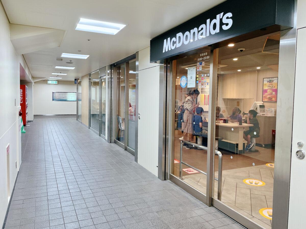 【祝オープン】堺市堺区・南海堺駅から直結『マクドナルド南海堺駅店』がオープンしました!!: