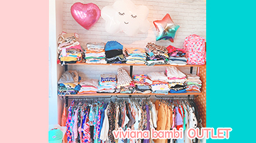 【viviana bambi OUTLET】めっちゃ可愛いアウトレット子供服が510円から販売中!!: