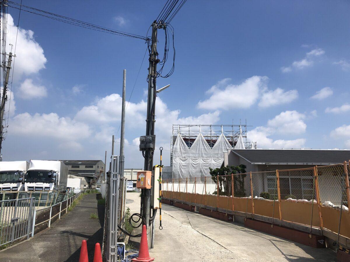 【新店情報】堺市美原区・大饗にこども園が新設!『(仮)おわいこども園』の工事が始まっています♪: