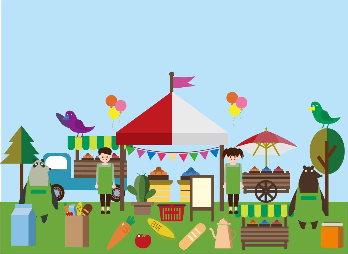 【2021.10/17(日)開催♫】堺市北区・大泉緑地で『るらるマーケット』が開催♪キッチンカーもやってくる!!: