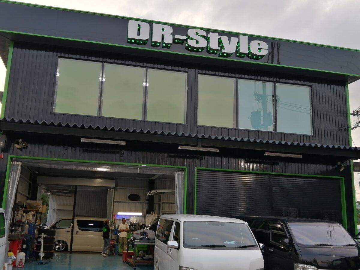 【祝オープン】堺市西区・泉北1号線沿いにカスタムなど車のことならおまかせ!!『DR-style』がオープンしていますよ!: