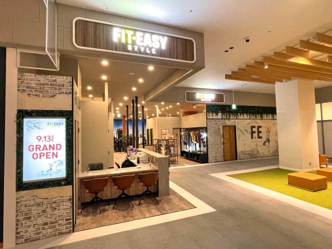 【祝OPEN】イオンモール堺北花田に完全非接触型のフィットネスクラブ「FIT-EASY」がOPENしてます: