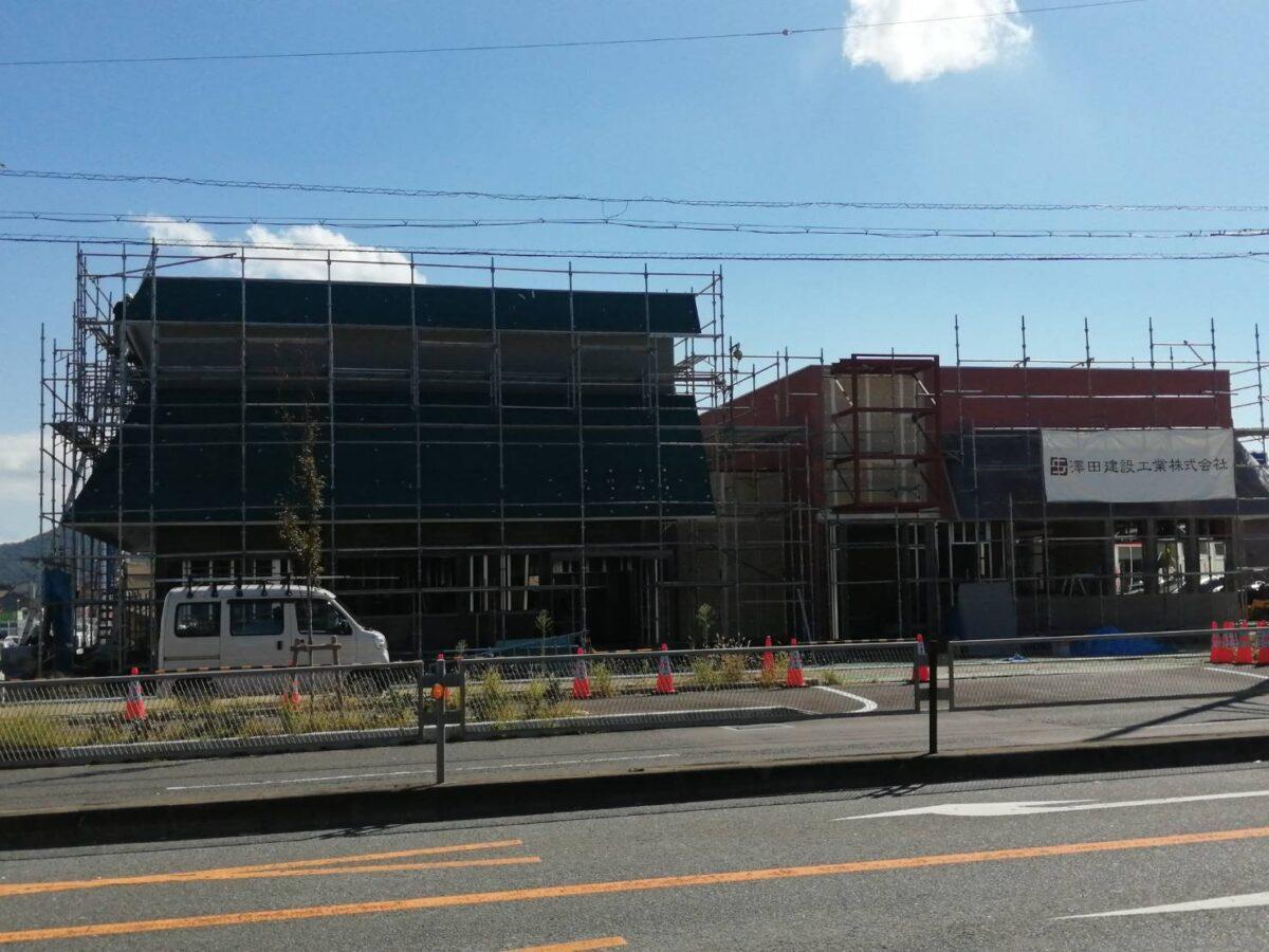 【新店情報】羽曳野市・西浦交差点のすぐそばに2店舗の飲食店がオープンの為工事中♪気になる2つ目のお店も判明♪: