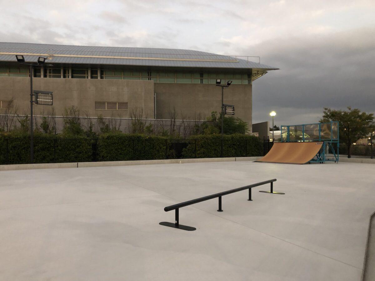 【祝オープン】今、熱いスポーツ!!スケボー始めるなら♪堺市中区・原池公園内に「スケートボードパーク初心者コース」ができましたよ~!!: